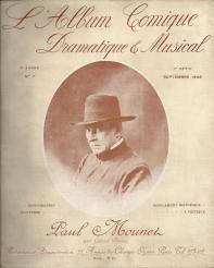 L'ALBUM COMIQUE (n° 7 - 1908) - Paul MOUNET