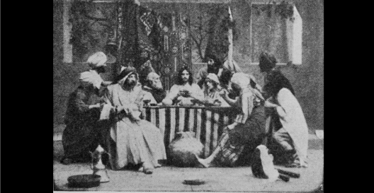 LE BAISER DE JUDAS - Film PATHE - Le Film d'Art - 1908 (b)