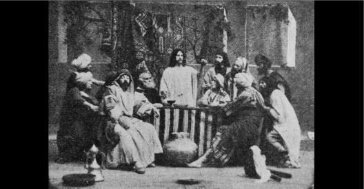 LE BAISER DE JUDAS - Fim PATHE - Le Film d'Art - 1908 (c)
