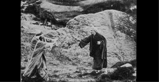 LE BAISER DE JUDAS - Film PATHE - Le Film d'Art - 1908 (g)