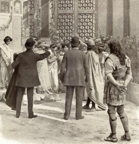 LE FILM D'ART - Le Retour d'Ulysse avec Paul Mounet et Julia Bartet - PATHE 1908