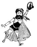 MOUNET-SULLY - Hernani Caricature par Job