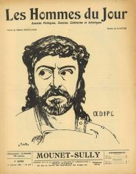 """MOUNET-SULLY"" - Les Hommes du Jour - n° 207 du 6 JAN 1911"