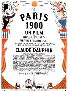 PARIS 1900 - Affiche film 1947