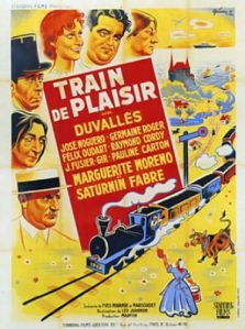 TRAIN DE PLAISIR - Affiche film 1935