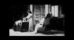 Sarah BERNHARDT et Edouard DE MAX - La Tosca - Photo du film