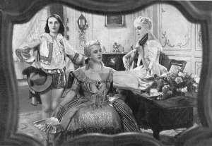 MARIAGE DE FIGARO - Jeanne Sully, Gabrielle Robinne et Lyse Delamare - Film 1935