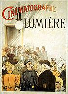 CINEMATOGRAPHE LUMIERE - Affiche de Henri Brispot - 1895