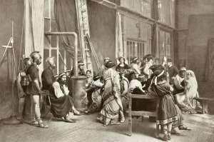 LE FILM D'ART - Les studios rue Chauveau à Neuilly 1908