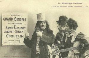 Sarah Bernhardt, Mounet-Sully, Coquelin...