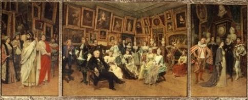 COMEDIE-FRANÇAISE - Les Sociétaires en 1894 par Louis Beroud