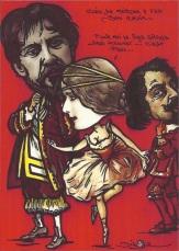 MOUNET-SULLY & PAUL MOUNET - Caricature par Jihel