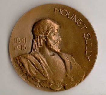 MOUNET-SULLY - OEDIPE ROI - Bronze par Josette Hébert-Coëffin
