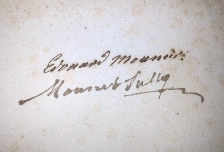 VIRGILE - Bucolica, Georgica et Aeneis - Didot, Paris 1798 (Ex-Libris Mounet-Sully)