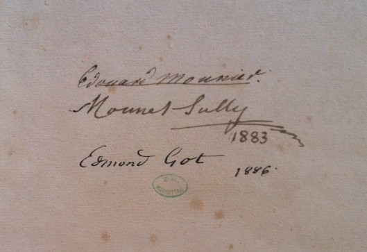 HORACE – Didot, Paris 1799 (Ex-Libris Mounet-Sully et Edmond Got) ©