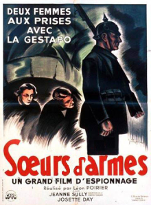 SOEURS D'ARMES - Film de Léon Poirier avec J.Sully (1937)