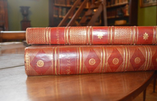 VIRGILIUS & HORATIUS – Didot, Paris 1798 & 1799 (Ex-Libris Mounet-Sully) ©
