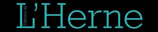 EDITIONS DE L'HERNE - Logo