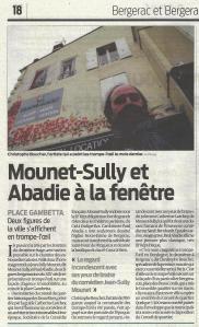 Mounet-Sully et Abadie à la fenêtre © Sudouest 2015