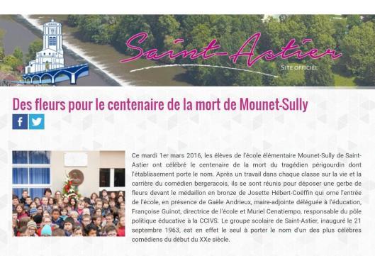 Ville de Saint-Astier (Site officiel)