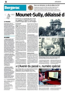 Mounet-Sully, délaissé dans sa ville natale (1) © Sudouest 2016