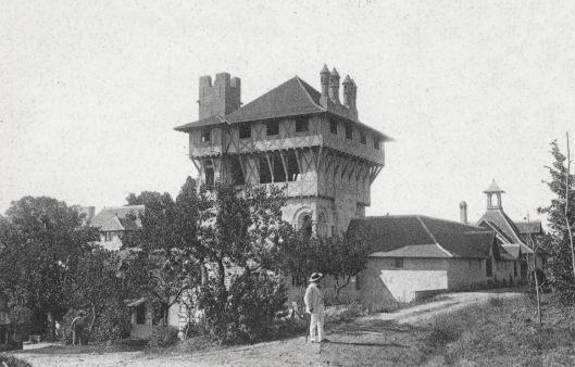 Mounet-Sully dans son château de Garrigues © Photo DR