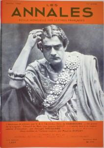 """""""Edouard De Max"""" par Jeanne Sully - Les Annales - n° 171 janvier 1965"""